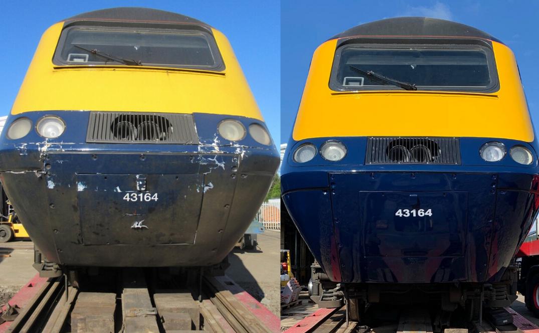 Class 43 HST Power Car Repair