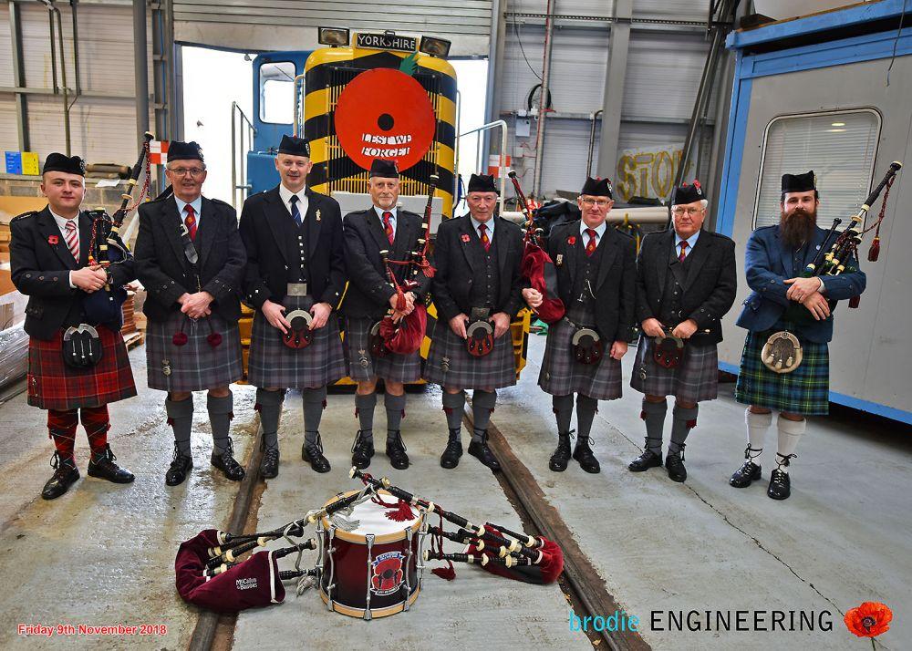 Isle of Cumbrae Pipe Band