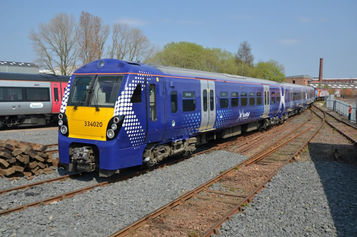 Class 334 Major Refurbishment